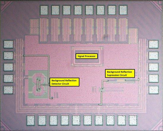 Em vez de usar receptores e transmissores, o chip simplesmente reflete os sinais Wi-Fi já emitidos pelos roteadores. [Imagem: JPL-Caltech/UCLA]